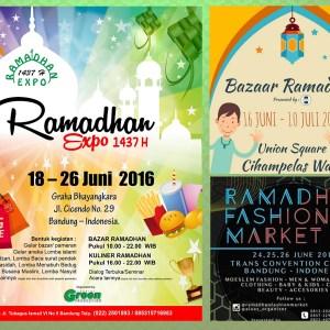 Event Pameran Ramadhan 1437 H - 2016 di Bandung