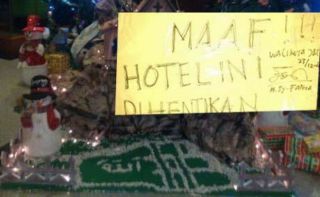 Hotel Novita Menyampaikan Permintaan Maaf