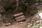3 Mortir Ditemukan di Kebun Warga