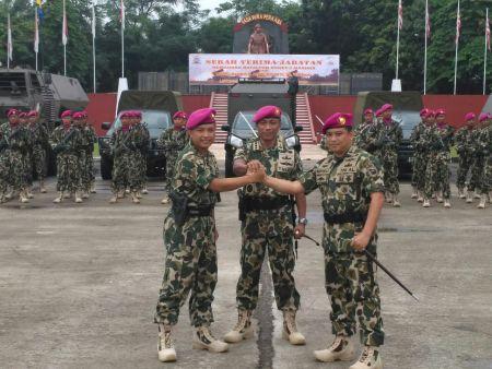 Wahyudi Latief Redmi Jabat Danyon Roket 2 Marinir