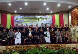 Pelantikan Dan Rapat Kerja Pengurus Daerah Kerukunan Warga