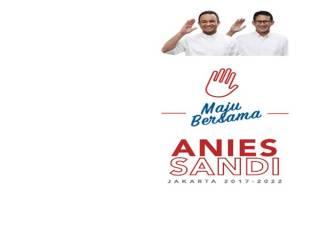 Rapat Pleno KPUD DKI Jakarta Anies-Sandi Unggul