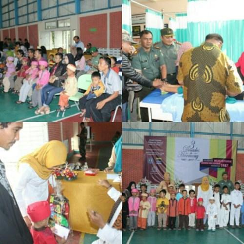 Khitanan massal kerjasama Alumni SMAN 8 Bandung dan Kodim 0618/BS