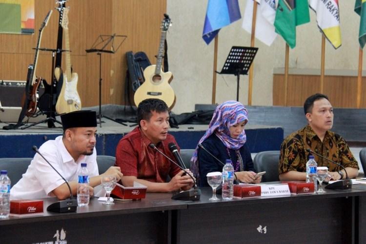 Rapat persiapan penataan Dapil untuk Pemilu 2019