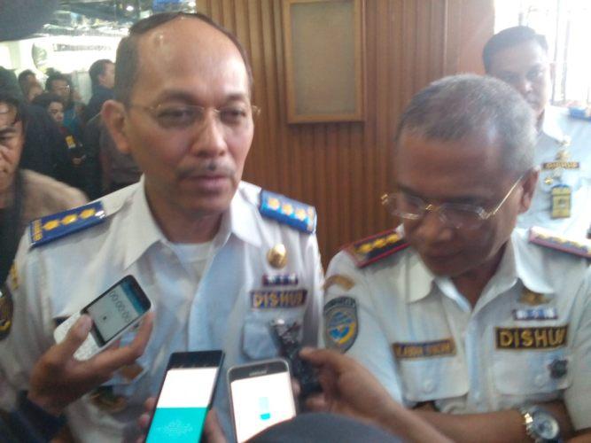 Dishub Jabar saat konferensi pers bersama WAAT Jawa Barat