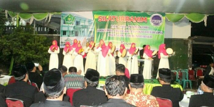 Acara silaturahmi lintas agama di Kediri