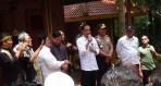 Presiden RI Joko Widodo (Jokowi) saat membuka program Citarum Harum di Situ Cisanti