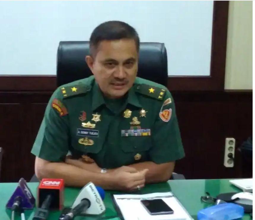 Kadispenad Brigjen TNI Alfret Denny Tuejeh