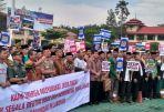 Deklarasi Anti Hoax di Mapolda Jabar, Selasa (13/3/2018).