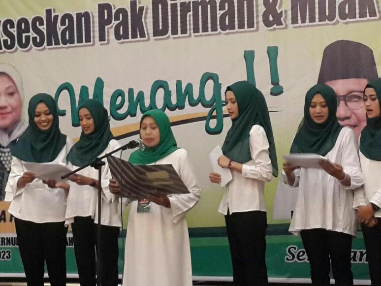 Deklarasi Perempuan Bangsa PKB Kota Semarang, Komitmen Menangkan Sudirman dan Ida