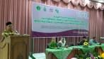 Zayadi, Direktur Pendidikan Diniyyah dan Pondok Pesantren Kementerian Agama RI saat menjadi narasumber kunci halaqah ulama perempuan di Aula I Kampus I UIN Walisongo Semarang