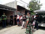 TKP pembunuhan ibu rumah tangga di Harapan Jaya Bekasi