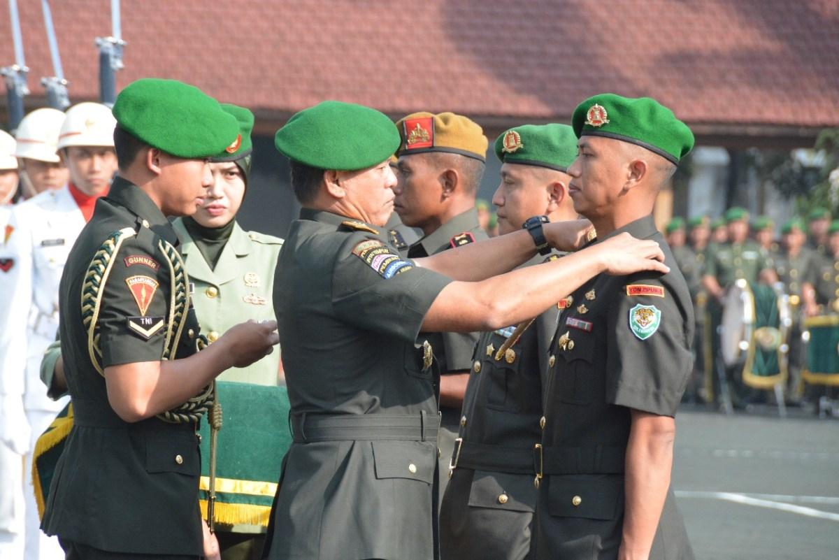 Pangdam Siliwangi Pimpin Serah Terima Jabatan Dua Komandan Batalyon