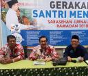 Ketua FKPT Jateng, Dr. Drs. H. Budiyanto, SH, M.Hum., pada acara Gerakan Santri Menulis di Sarasehan Jurnalistik Ramadan