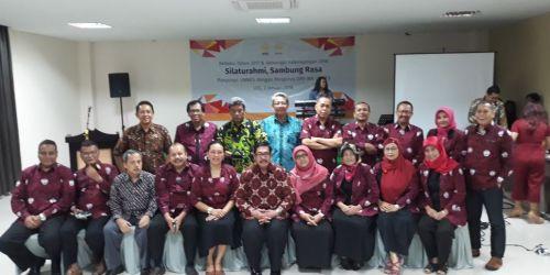 Jajaran IKA Unnes saat kegiatan Silaturrahmi, Sambung Rasa pada 2 Januari 2018 lalu.