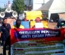 Gerakan Pemuda Anti Ijazah Palsu Gelar Aksi Unjuk Rasa Di Kantor KPU Jabar