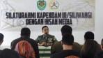 Pendam III Siliwangi Gelar Silaturahmi dan Halal Bihalal Bersama Wartawan