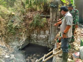 Sektor 7 Satgas Citarum Akan Tutup Aliran Limbah Di Anak Sungai Cisuminta