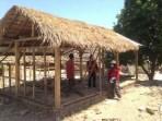PMI Bangun Prototipe Huntara Di Lombok