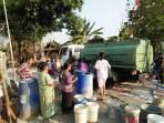 Ansor Boyolali Bantu Air Bersih Untuk Warga Yang Dilanda Kekeringan
