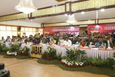 Pangdam III/Siliwangi Hadiri Rakor Lintas Sektoral Pengamanan Pemilu Tahun 2019
