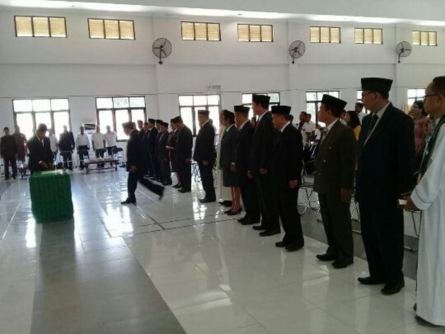 Bupati Matim rotasi sejumlah pejabat di lingkup pemkab Matim
