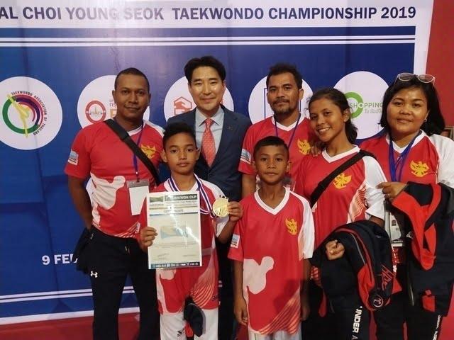 Mohammad Haikal Ghifary atlet Taekwondo Indonesia