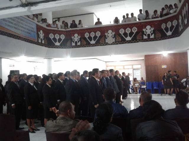 pelantikan 87 pejabat struktural di lingkup Pemkot Kota Kupang