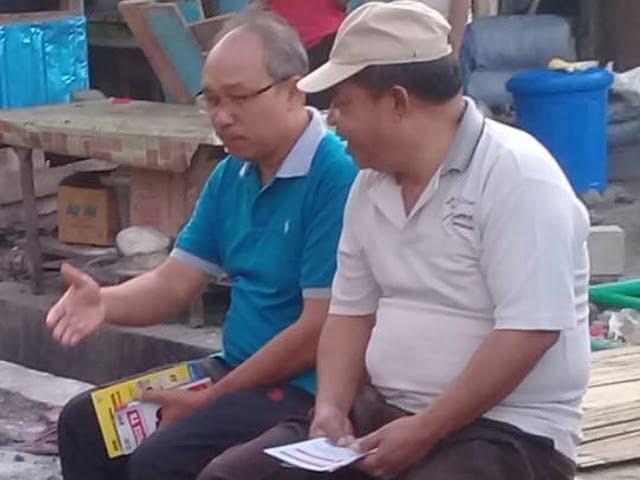 Bupati Agas peringatan hari TBC sedunia di terminal kota Borong, Matim