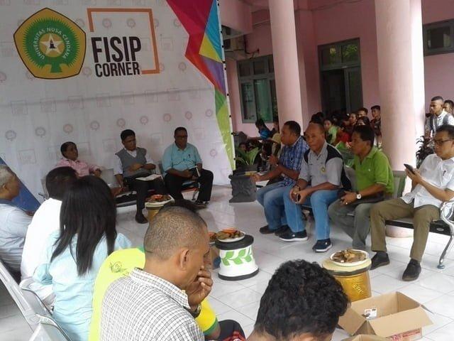 FISIP Corner bahas Undana Kupang masalah sampah di kota Kupang