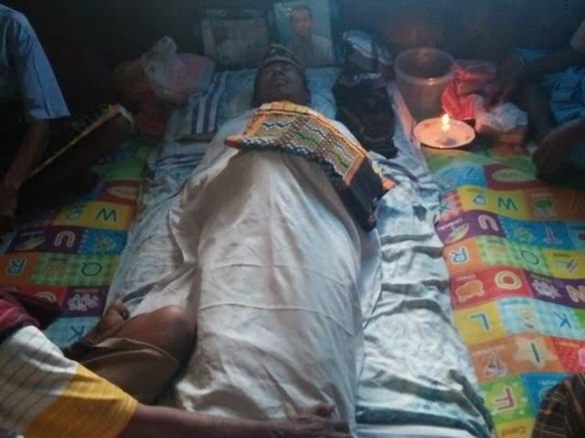korban yang terjatuh saat mancing di Reo Manggarai