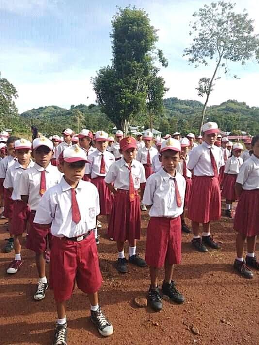 Peserta Lomba OSN 2019 tingkat SD se-Kecamatan Lamba Leda