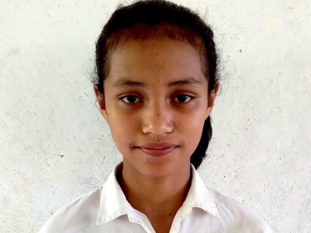 Maria D. Janur siswa SMP berprestasi dari NTT