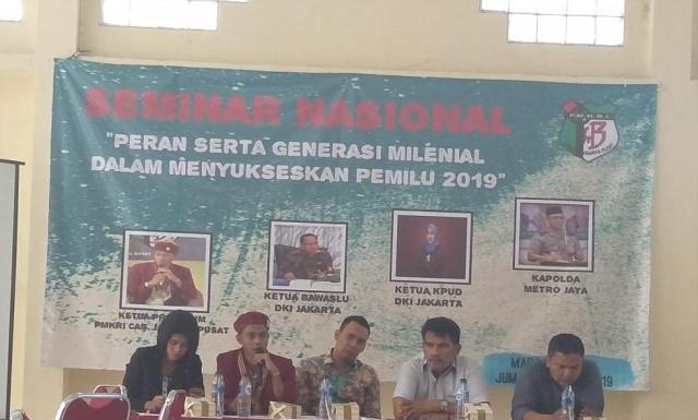 Seminar Nasional PMKRI Jakarta Pusat di Menteng Jakarta Pusat