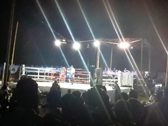 Arena tinju profesional Big Fight One Mbay Nagekeo
