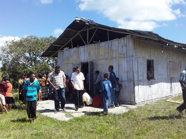 Kondisi rumah ibadat Malapoma