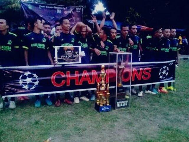Kota Komba juara turnamen Manggarai Cup II Malang