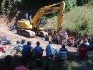 Proyek lapen Desa Sangan Kalo