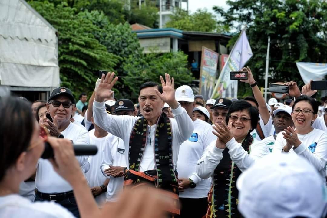 Menteri Pimpin Aksi 10 Ribu Orang