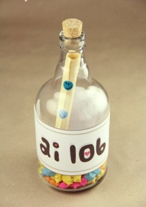 Botella mensaje