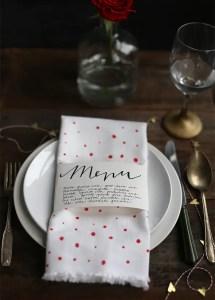 menu servilleta