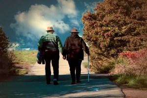 paseando en pareja