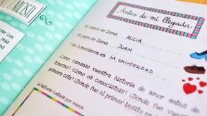 cuaderno bebe