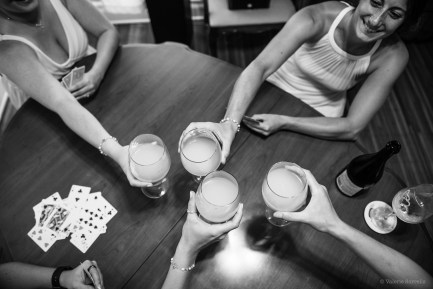 Toasts and cards