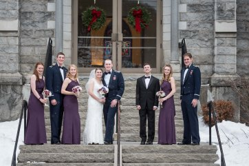 Wedding party by Sorrells Photography
