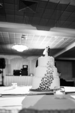 Wedding cake at Capitol Plaza Hotel by Sorrells Photography