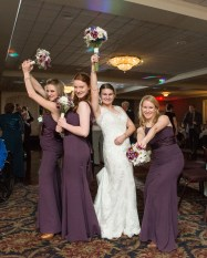 Bridesmaids at Capital Plaza Hotel by Sorrells Photography