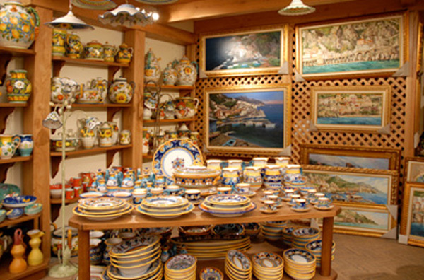 Ninfeo Ceramics Sorrento And Amalfi Coast