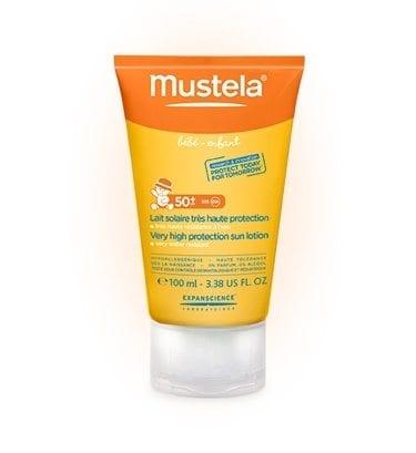mustela childrens sun lotion