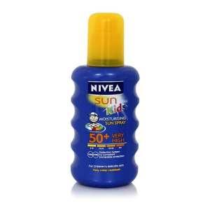 nivea kids sun spray
